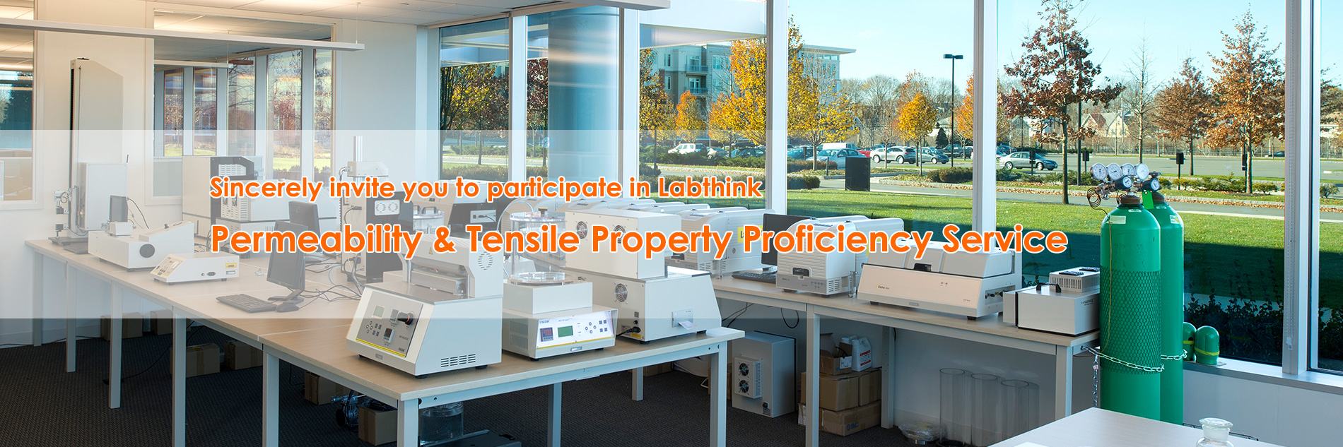 Labthink Permeability & Tensile Property Proficiency Service